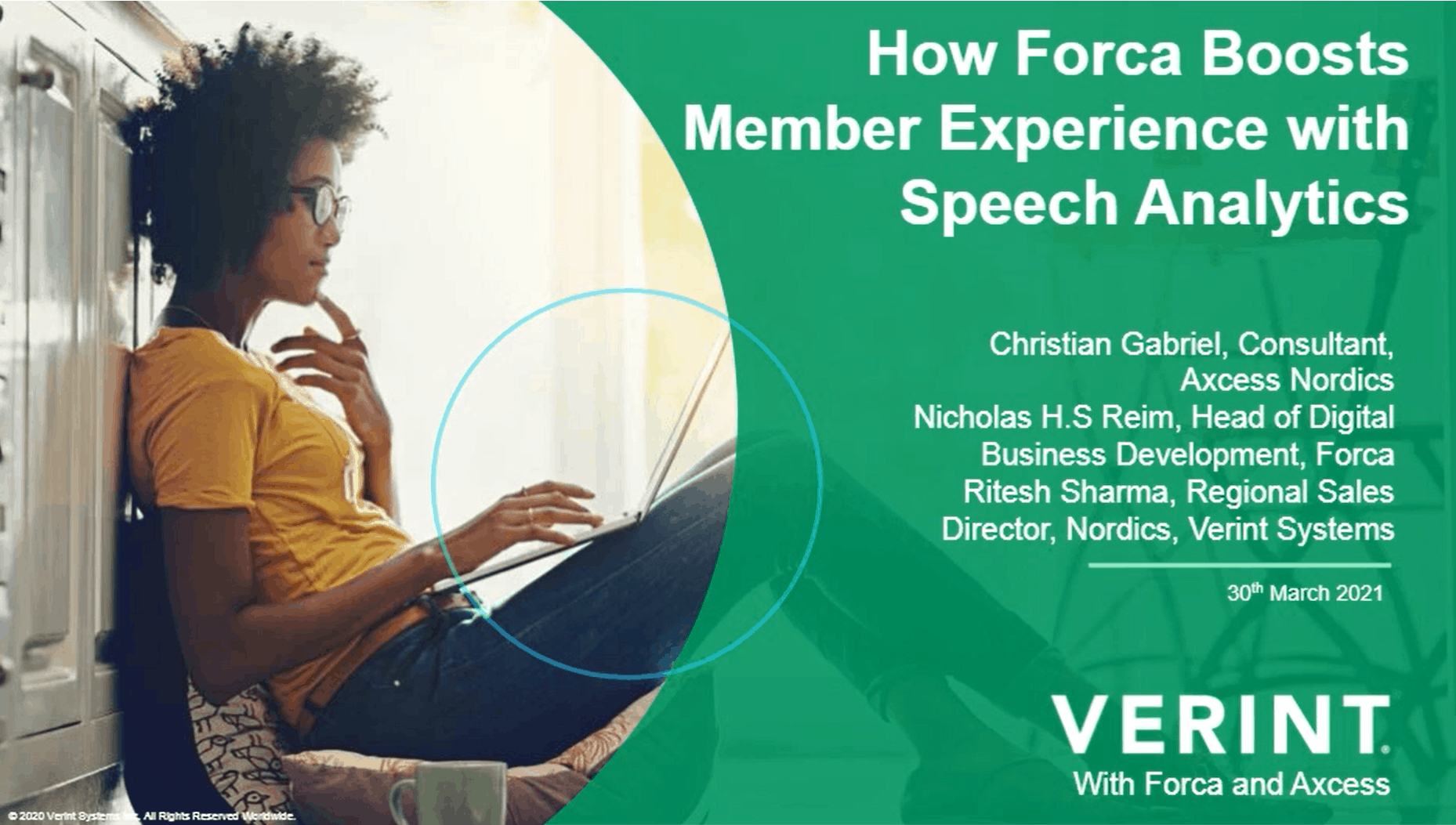 How Forca Boosts Member Experience with Speech Analytics